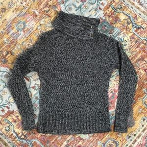 Banana Republic   Button Turtleneck Sweater Size M